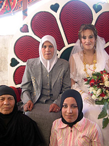 Bride and Women of the Village